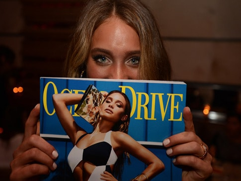 The Ocean Drive Swim Issue Cover Party with Hannah Davis