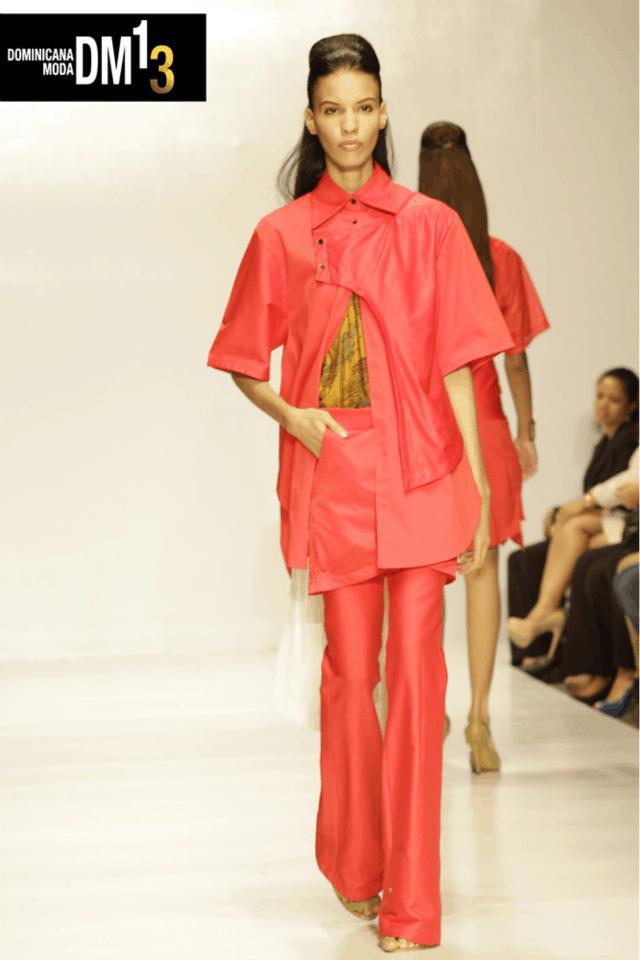 The Revelation of Nelson Tavarez Spring 2014 Collection at Dominicana Moda 2013