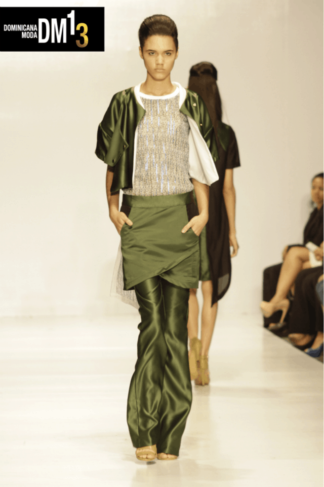 The Revelation of Nelson Tavarez Spring 2014 Collection at Dominicana Moda 2013
