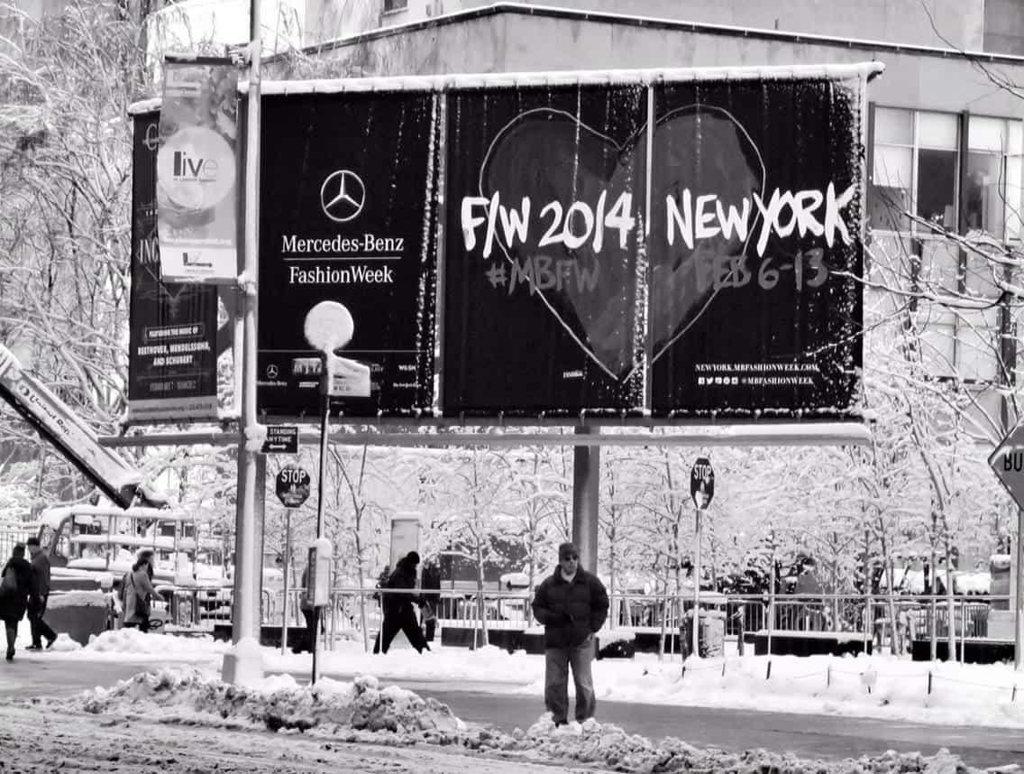 Mercedes Benz Fashion Week New York Fall 2014 Lineup