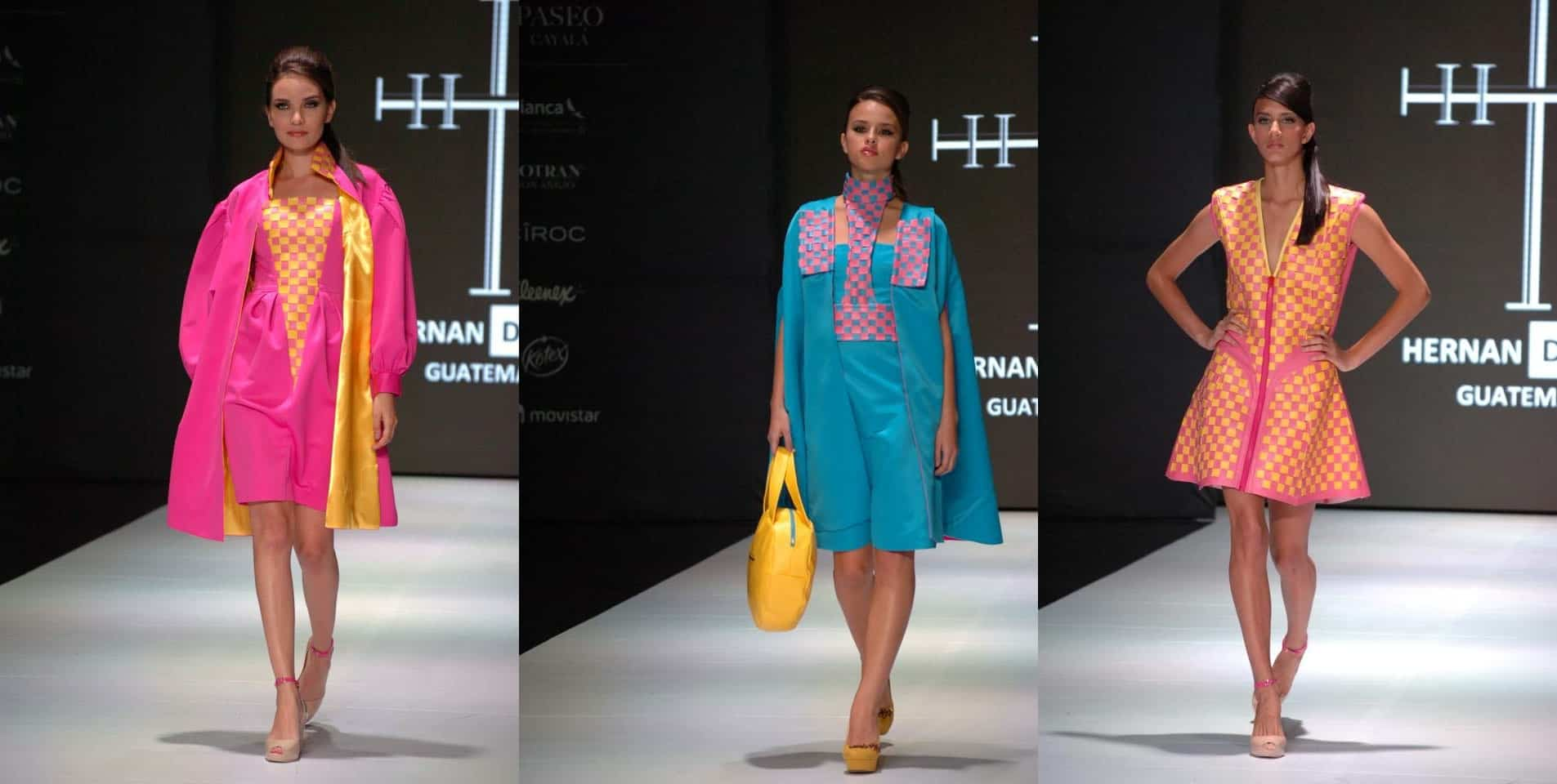 Mercedes Benz Fashion Week Guatemala MACAROON by Hernan Dubois