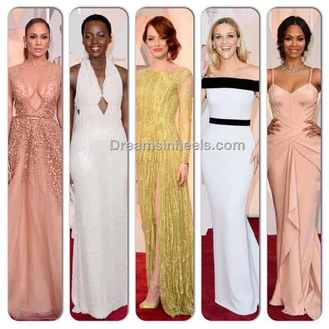 The Oscars: Dreams in Heels Top 5 Best Dressed