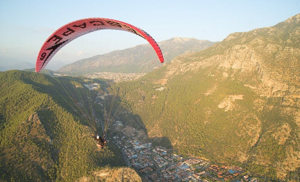 Tandem Paragliding in Oludeniz Turkey – Best paragliding in Turkey over the Blue Lagoon!