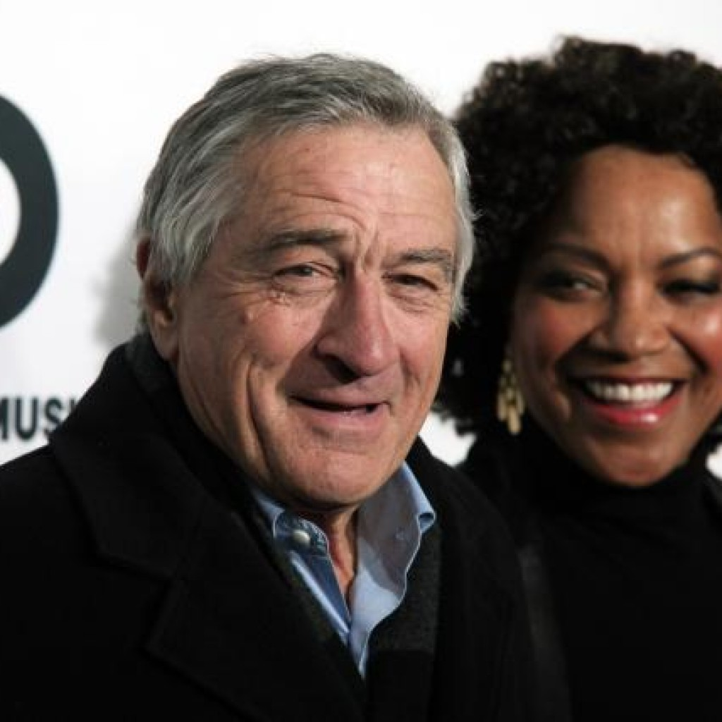 Robert Deniro and Grace Hightower Coffee with Love on Top!