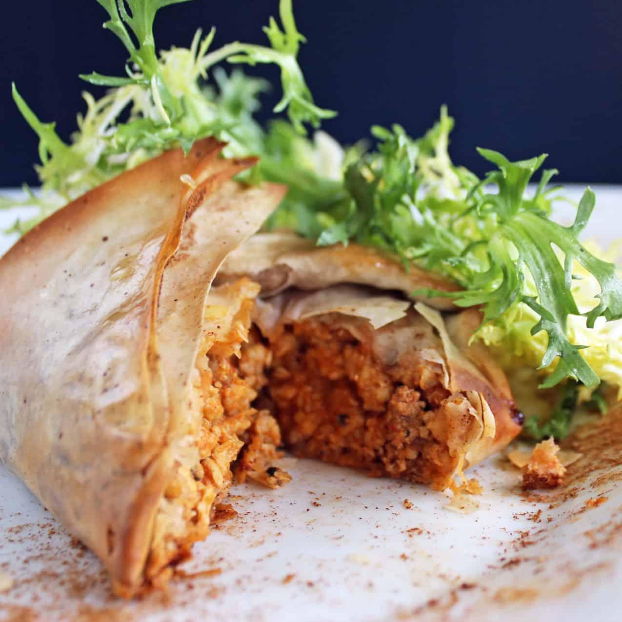 Chicken bisteeya - Cafe Triskell