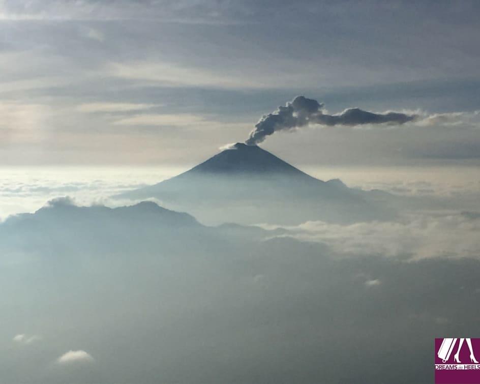 Cotopaxi Volcano Erupting in Ecuador