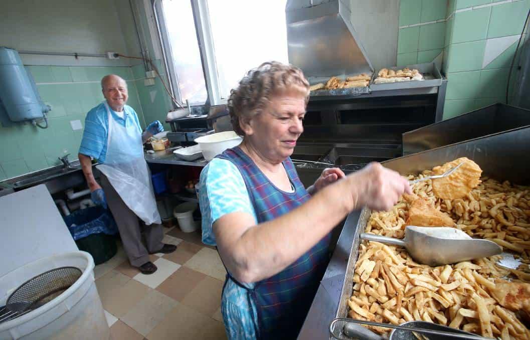 Balgownie fish shop