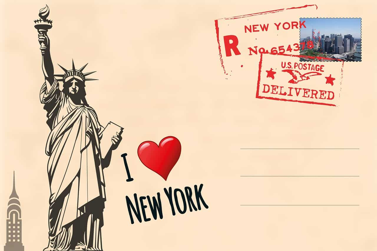 I love New York Postcard