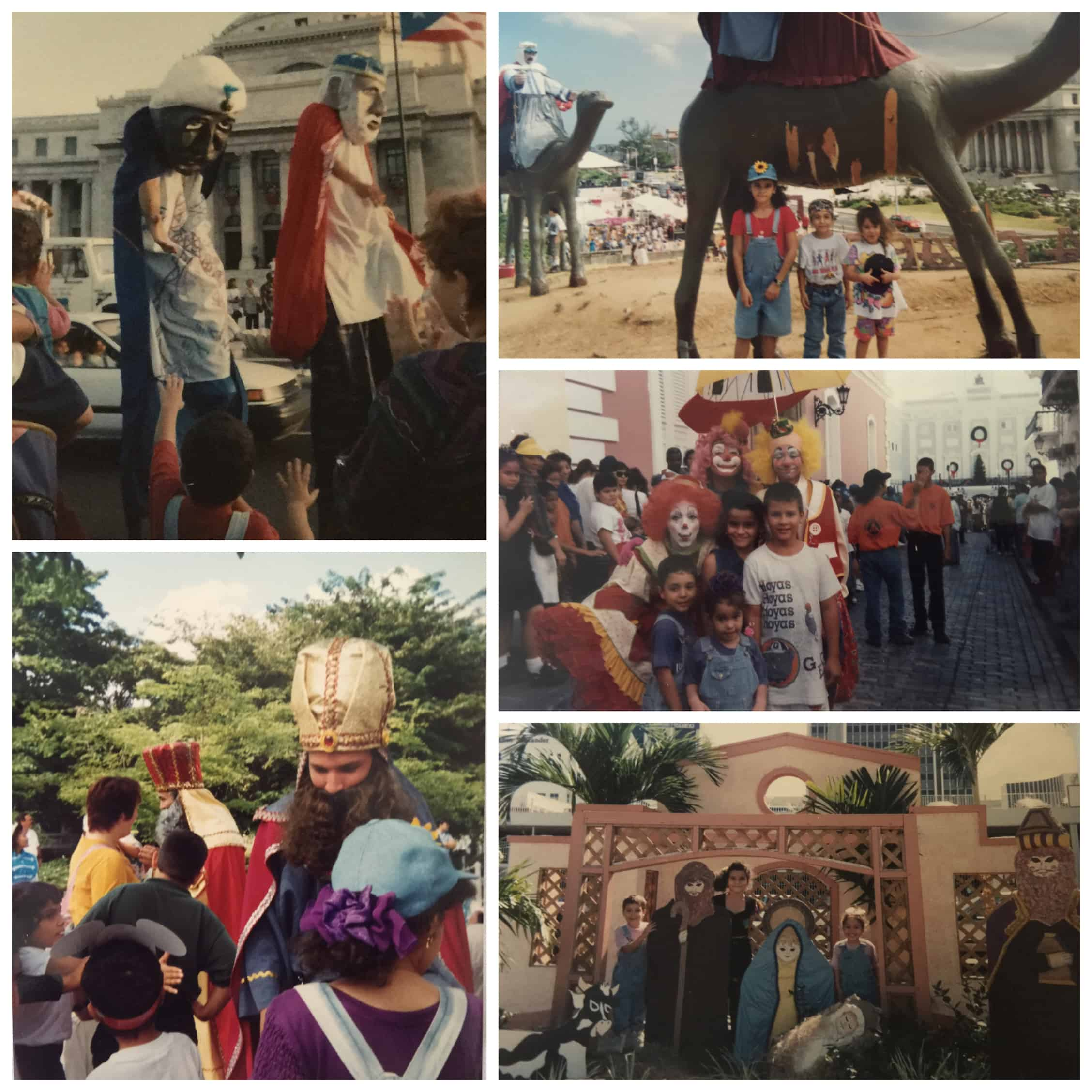 Throwback - Childhood Memories from Three Kings day