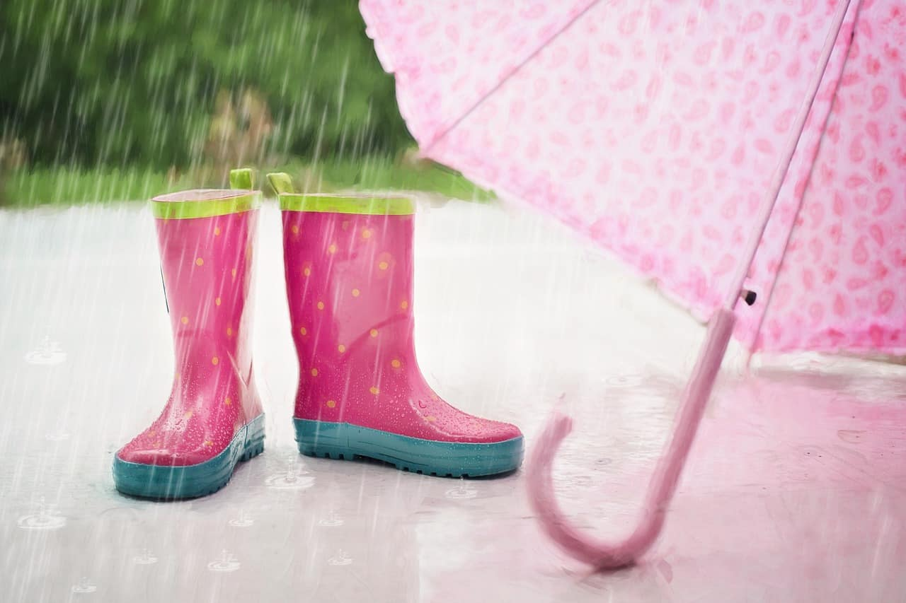 Memphis weather - rain boot, umbrellas - packing essentials