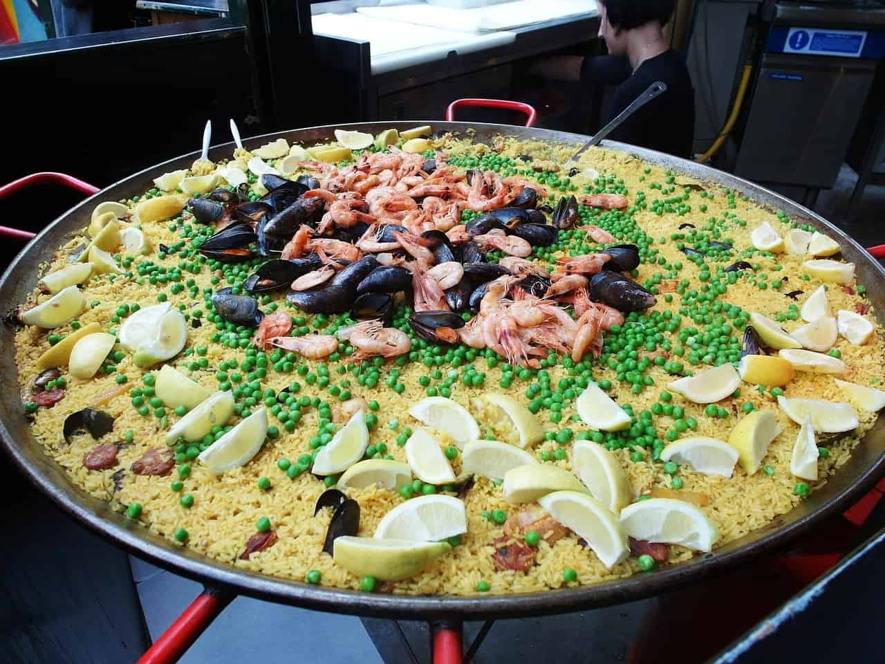 Paella at Borough Market