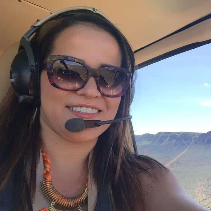 helicopter ride over Colorado and Utah