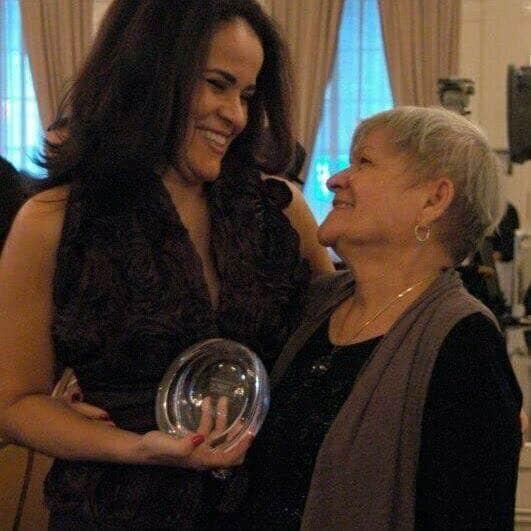 My mom and I, Olga Maria Dreams in Heels