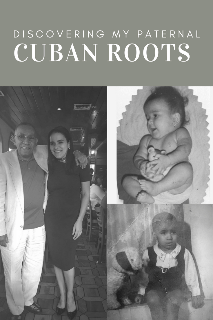 Discovering my paternal cuban roots and connecting with my dad!