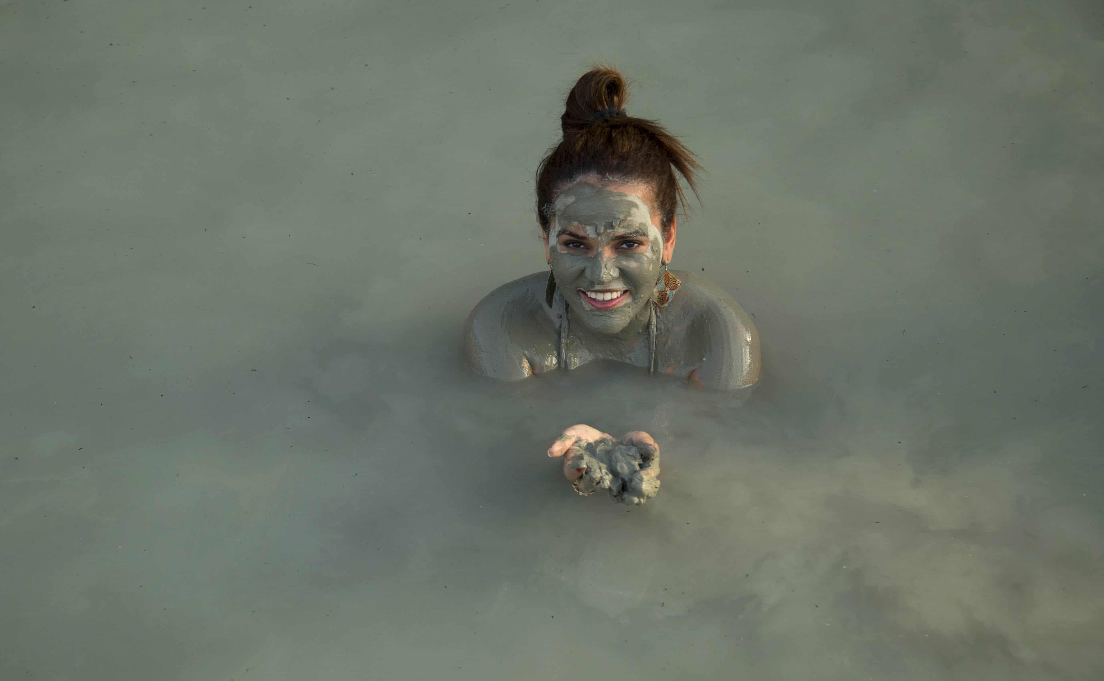 Natural Mud Bath Dalyan Turkey
