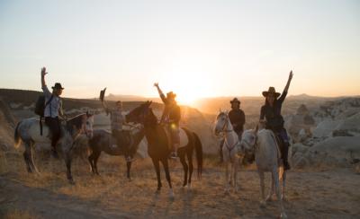 Horseback riding cappadocia turkey