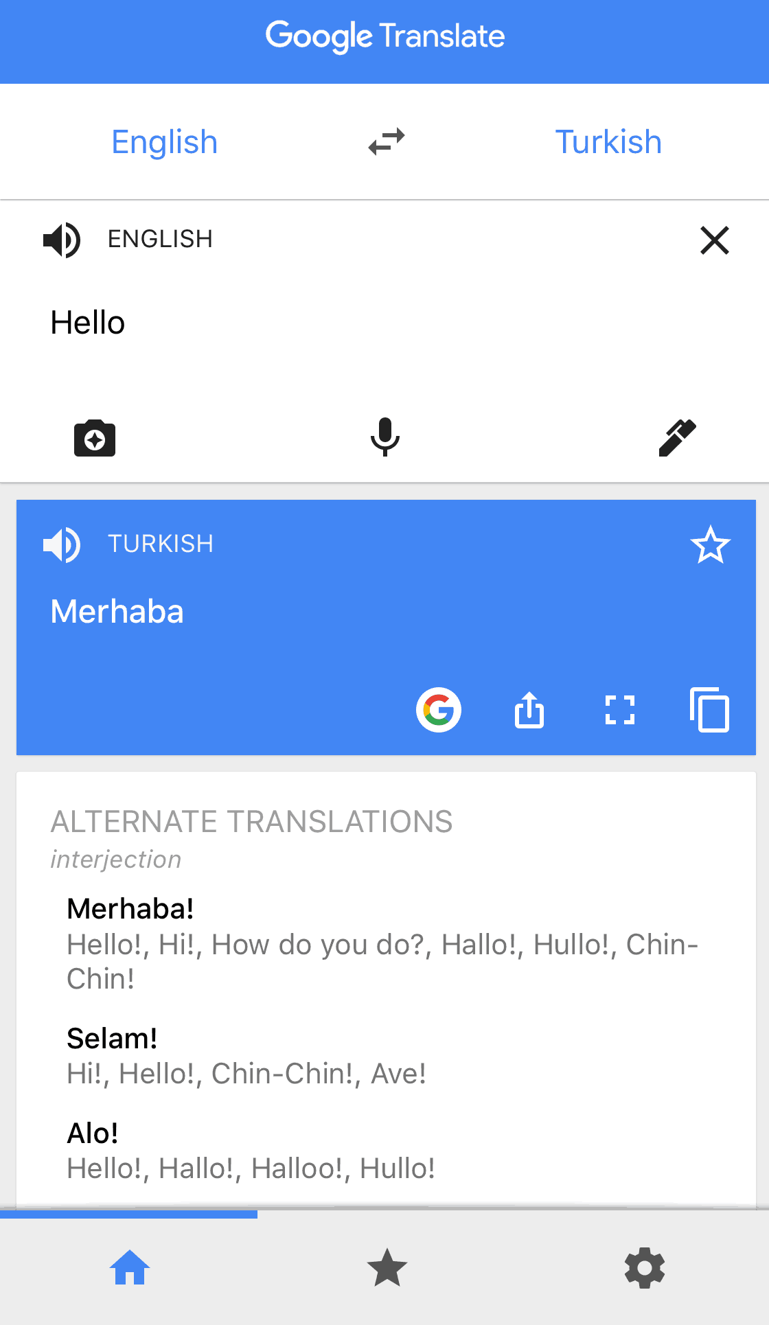 google translate without data