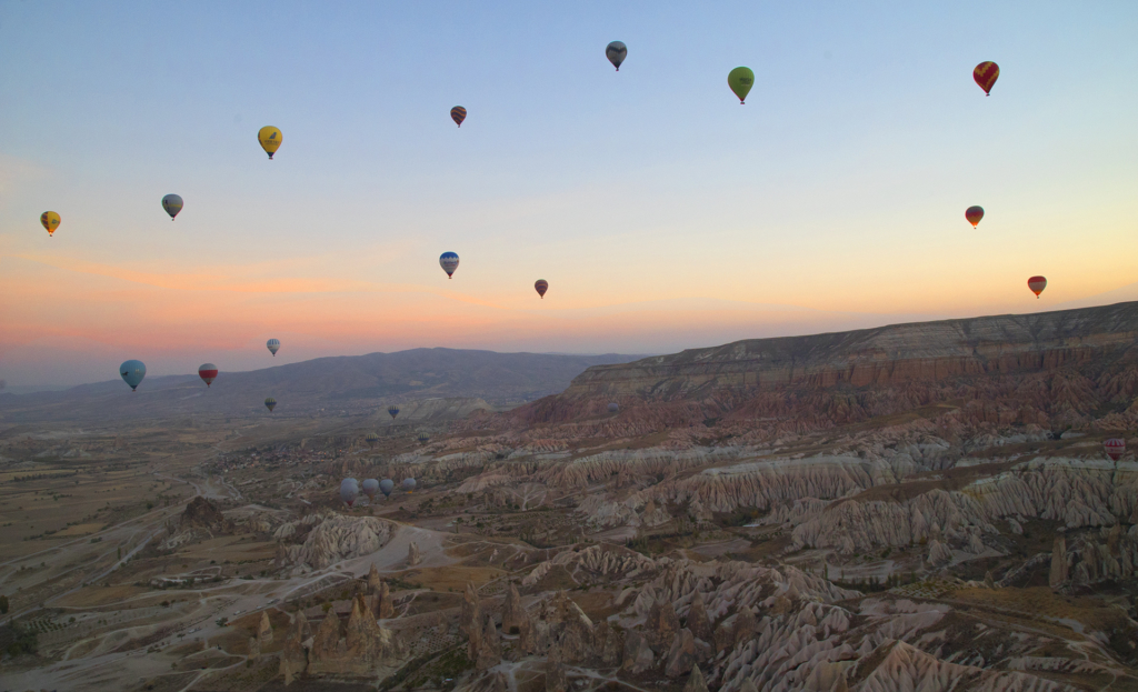 Cappadocia Turkey Hot air balloons