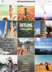 Latinas Who Travel Instagram Featuring Latina Travelers and Honorary Latinas