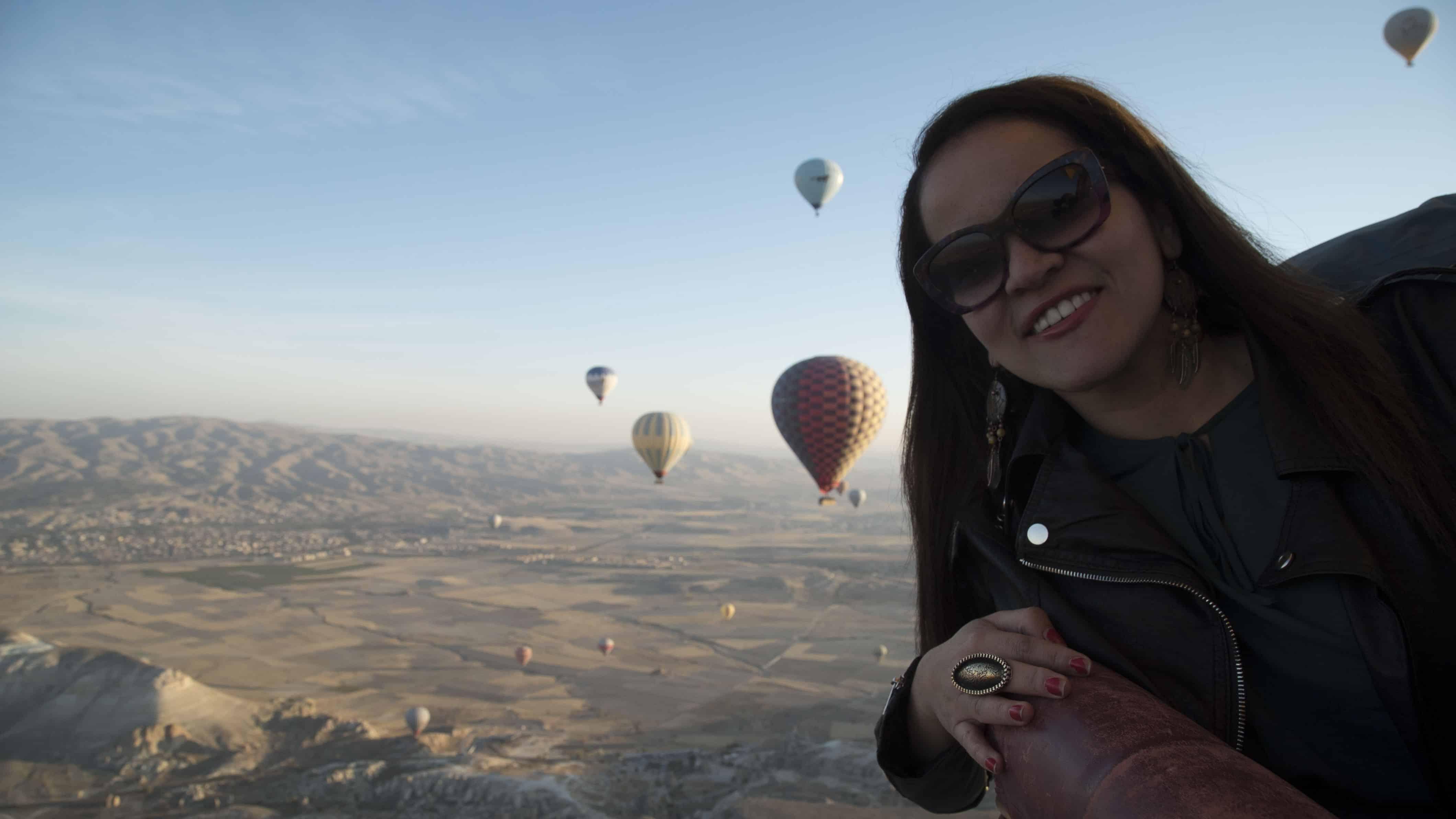 Hot Air Balloon Ride in Cappadocia Turkey