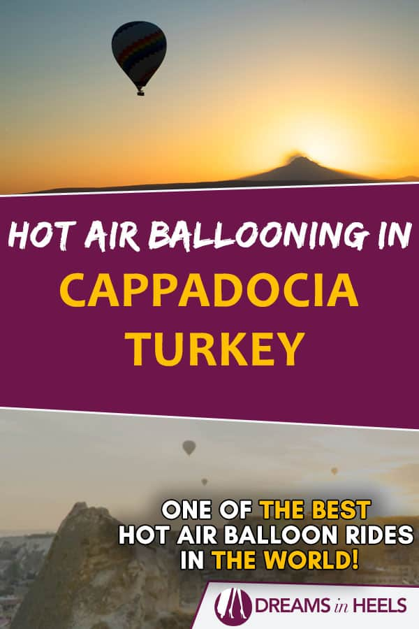 Hot air ballooning in Cappadocia Turkey - One of the best hot air balloon rides in the world!