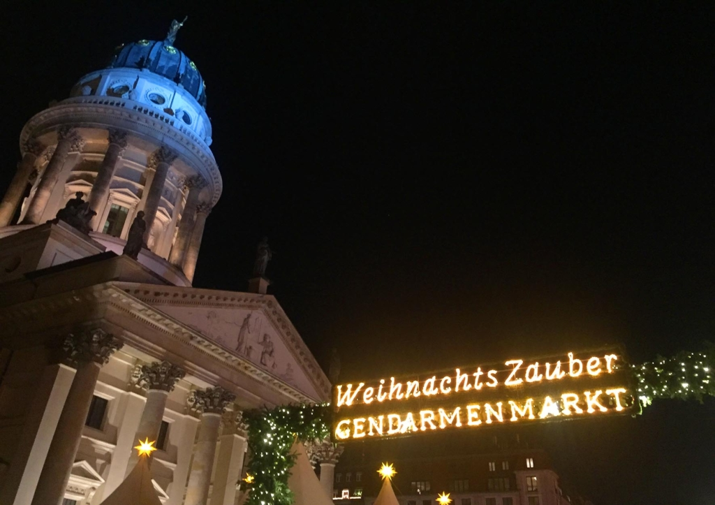 Gendarmenmarkt Christmas Market in Berlin