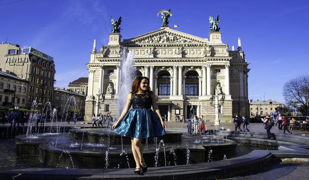 Lviv Opera House in Ukraine