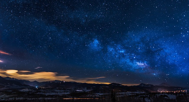 best time to visit colorado - stargazing in colorado