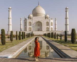 The Taj Mahal Olga Maria Dreams in Heels and Latinas Who Travel