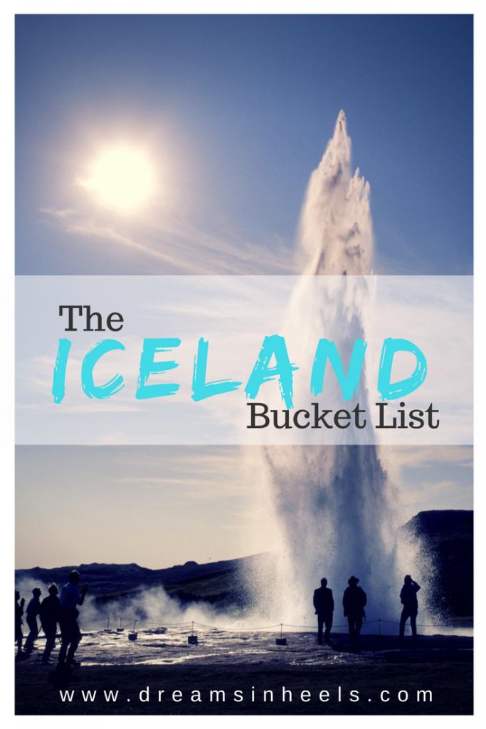 Travel Dreams: My very own Iceland Bucket List