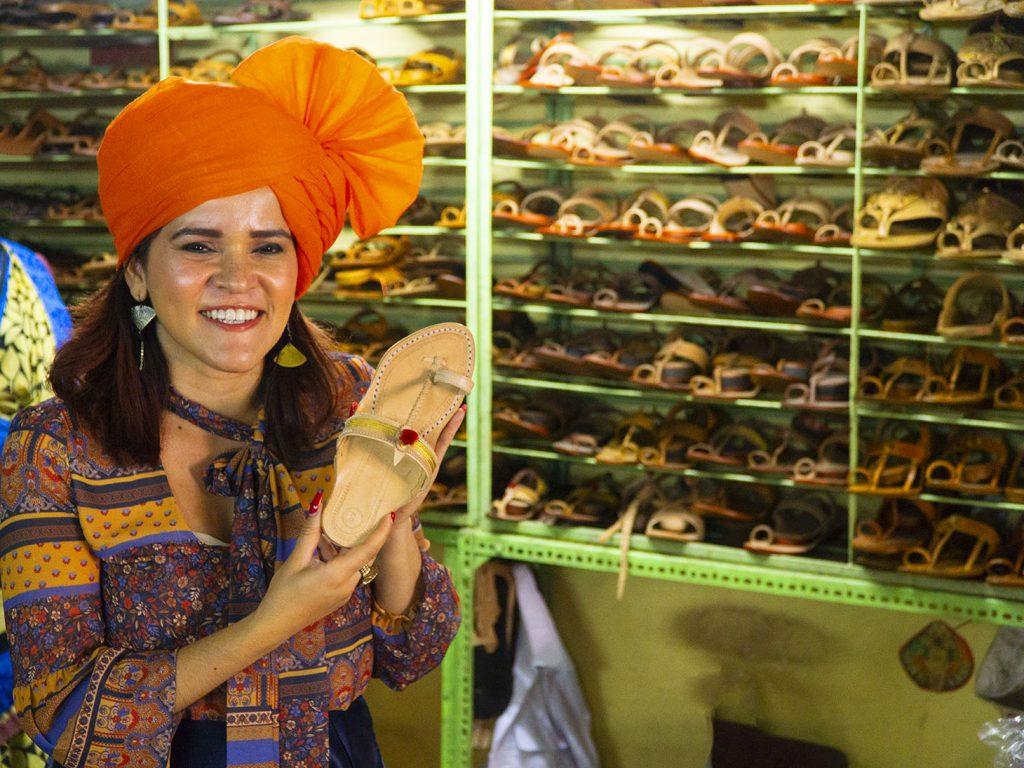 Kolhapuri Chappals Olga Maria Dreams in Heels Shopping