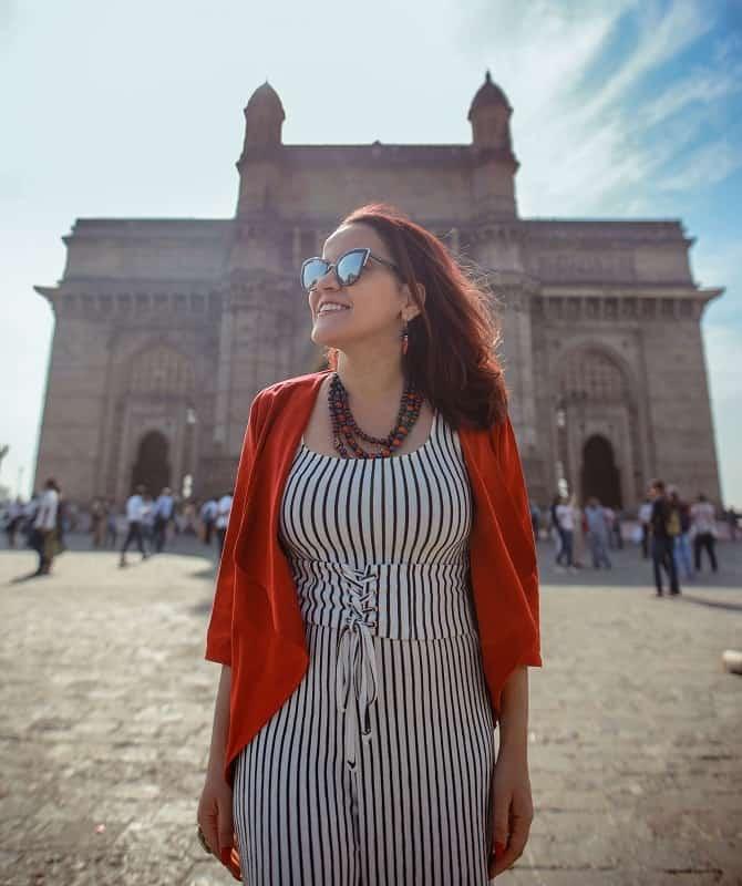 Gateway of India Mumbai Olga Maria Dreams in Heels