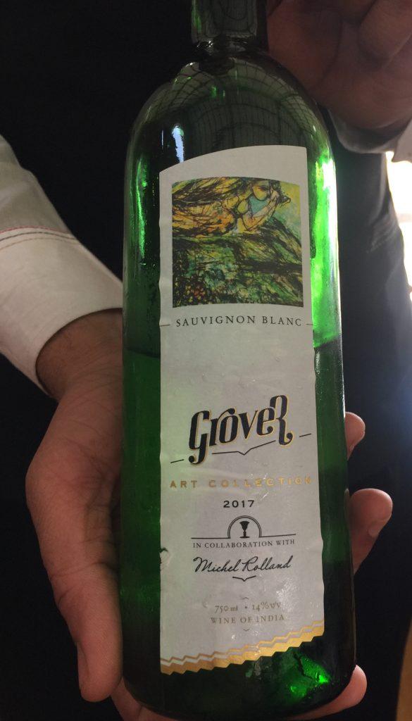 Grover Zampa Wine Bottle - Nashik Winery