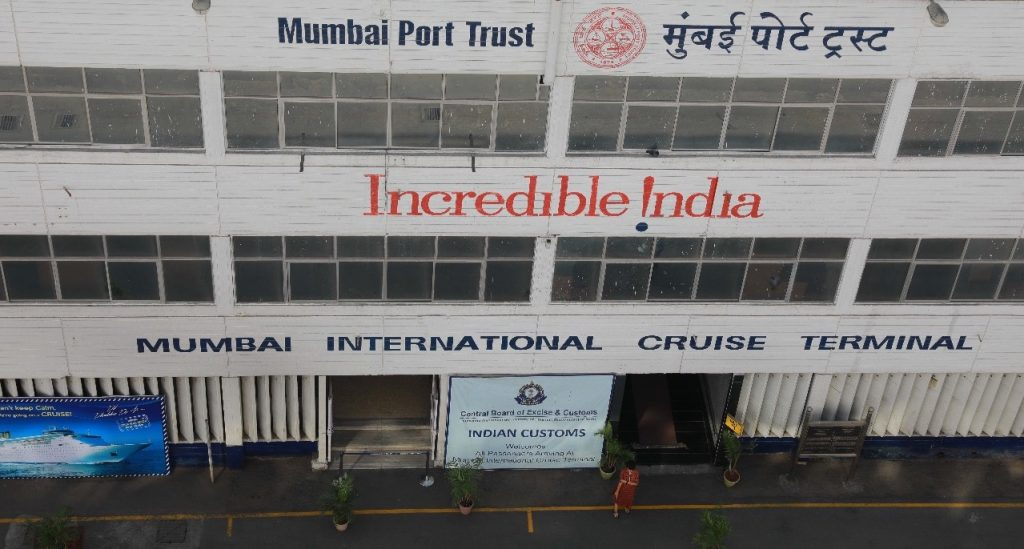 Mumbai International Cruise Terminal Incredible India