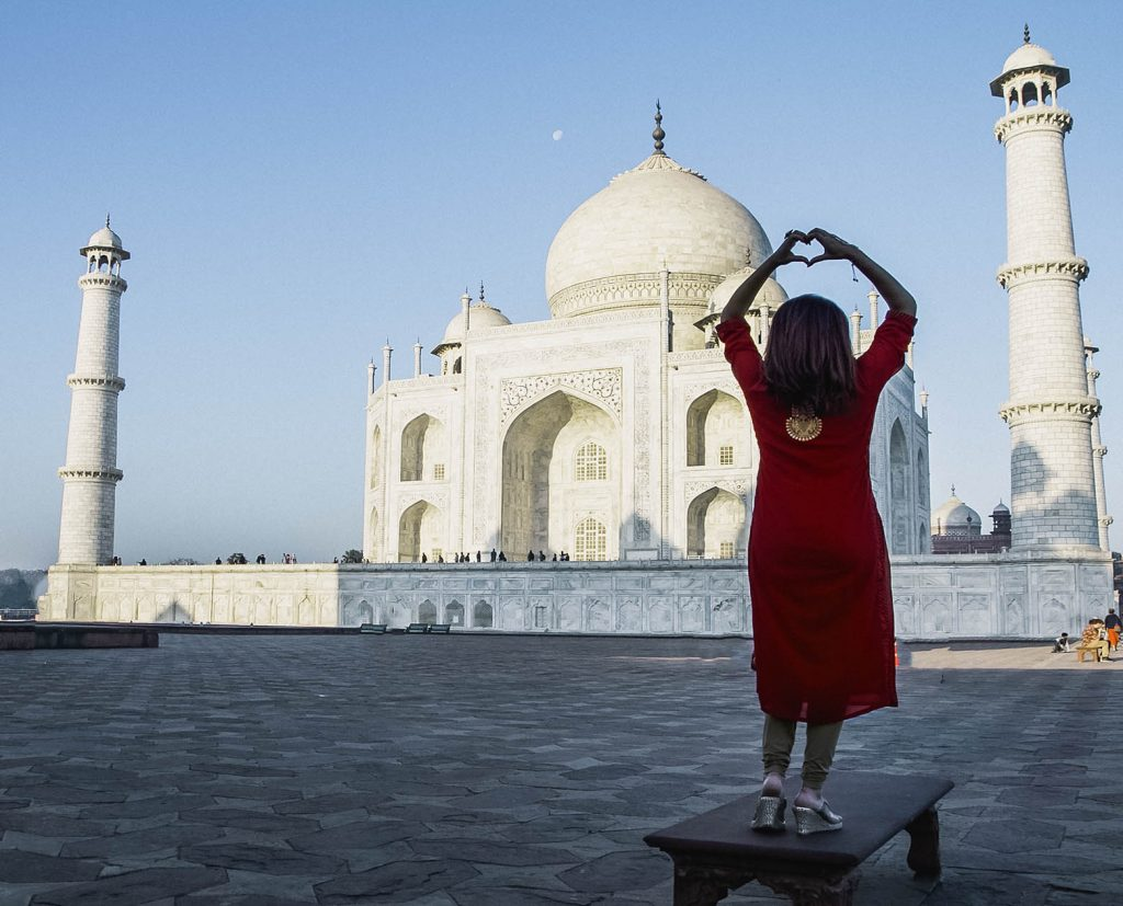 the taj mahal agra india love story - travel tips
