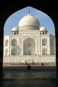 Visiting The Taj Mahal - a symbol of love