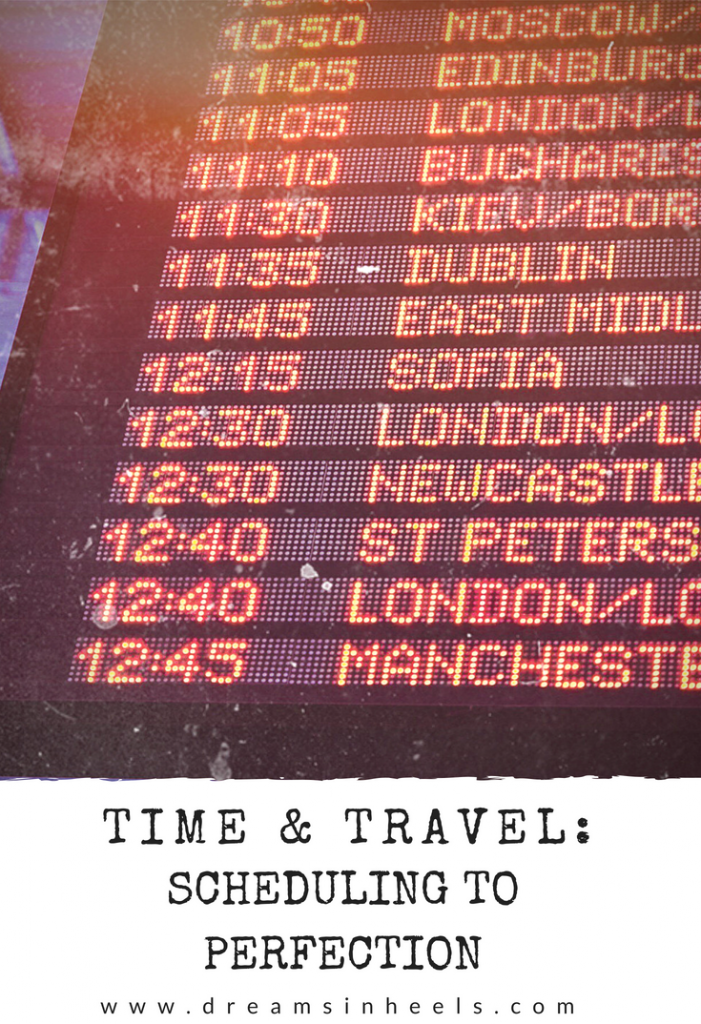Time & Travel: Scheduling To Perfection