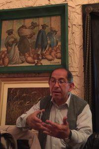 Mr. Jaime Burgos owner of Quito