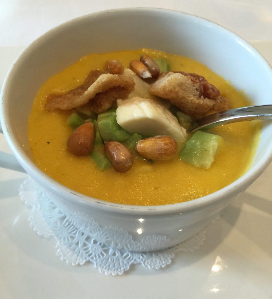 ecuadorian locro soup quito ecuador foodie
