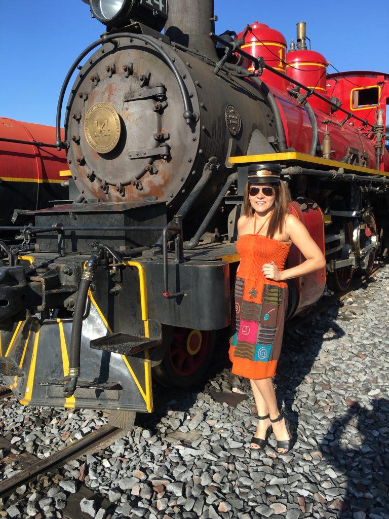 Tren en Ecuador