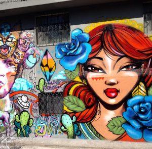 Street art - Mural Quito Ecuador