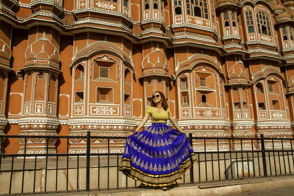 hawa mahal jaipur india pink city of india