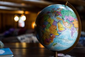 world traveler globe