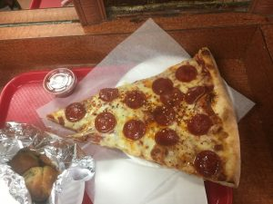 Koronet upper west side best pizza - big slice of pizza