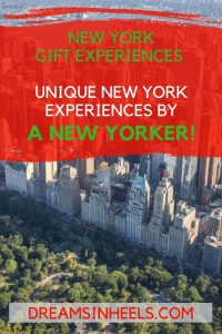 New York Gift Experiences - Unique New York Experiences by a New Yorker!