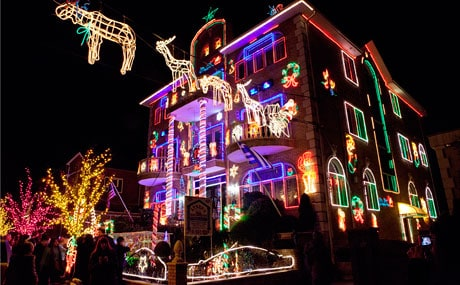 Dyker's Heights Christmas Lights in Brooklyn