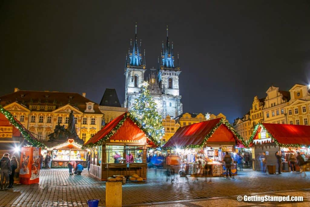 Christmas markets in Prague - GettingStamped