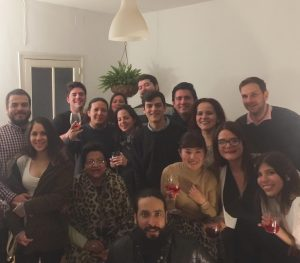 Latinos around the world - spending Christmas in Madrid Spain