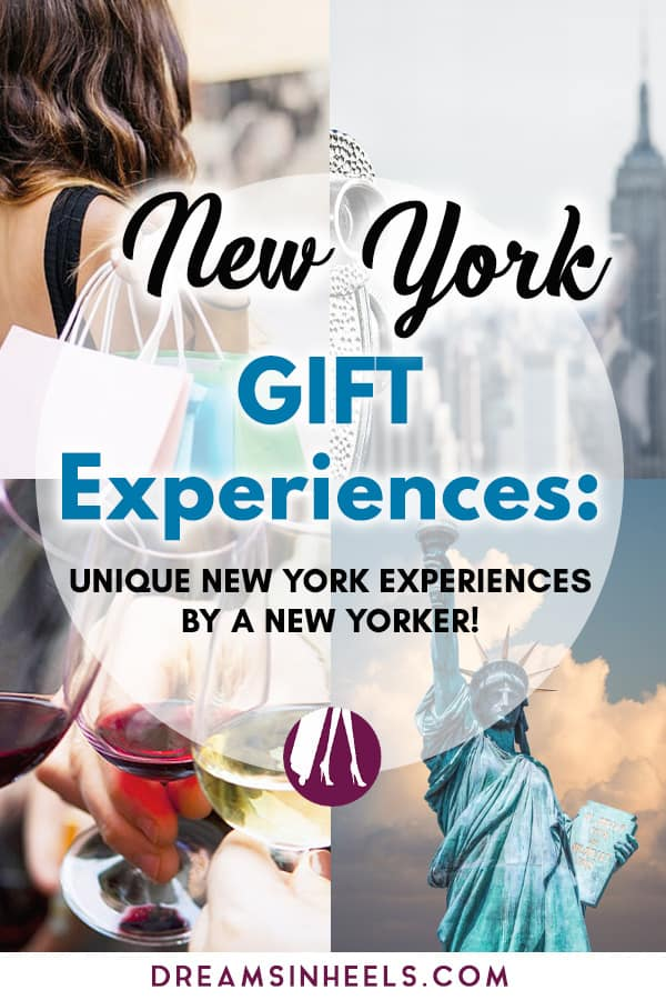 New York Gift Experiences- Unique New York Experiences by a New Yorker!