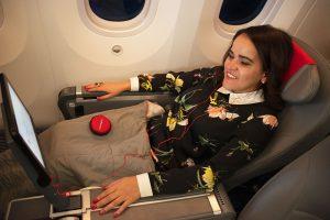 entertainment onboard norwegian air flight